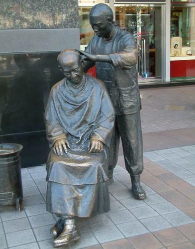 吉安人物铜雕塑