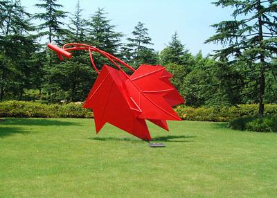 吉安玻璃钢景观雕塑