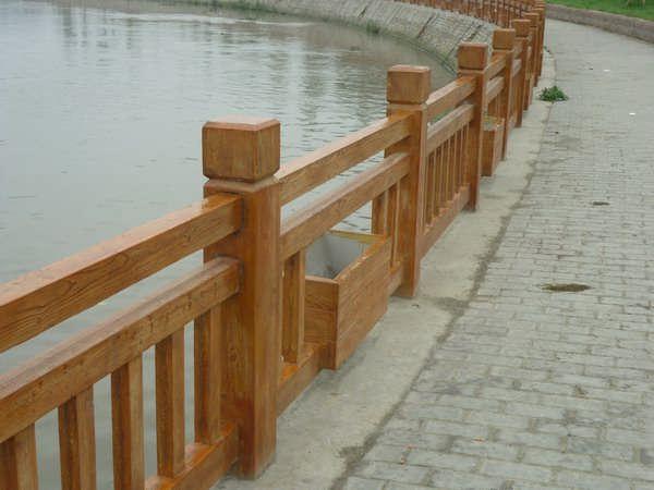 吉安水泥仿木护栏