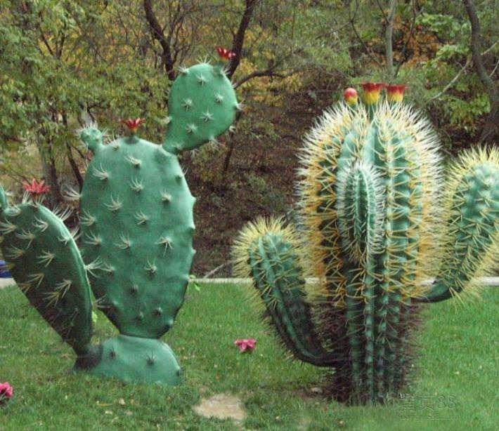 吉安玻璃钢植物雕塑