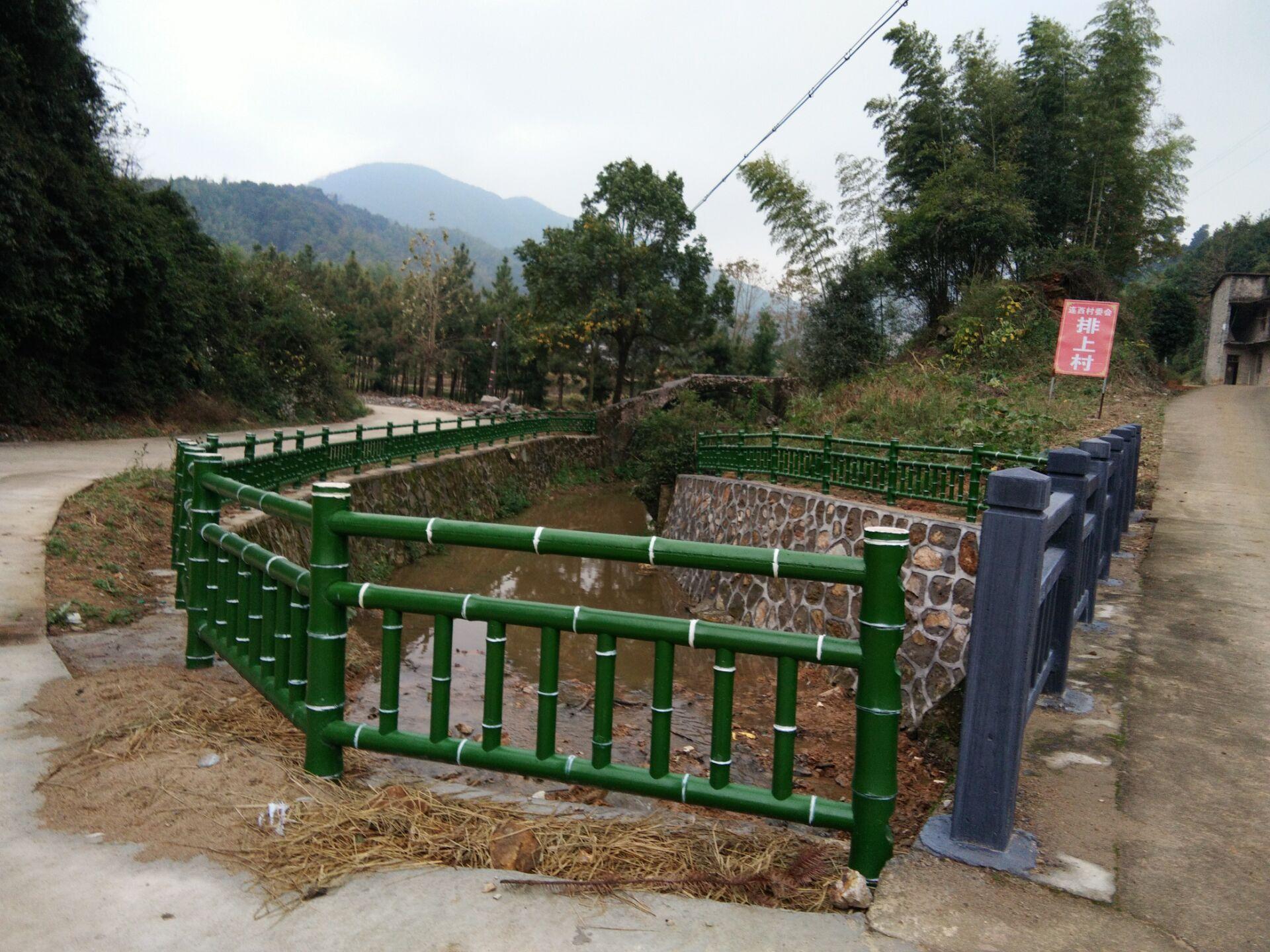 吉安水泥仿竹护栏