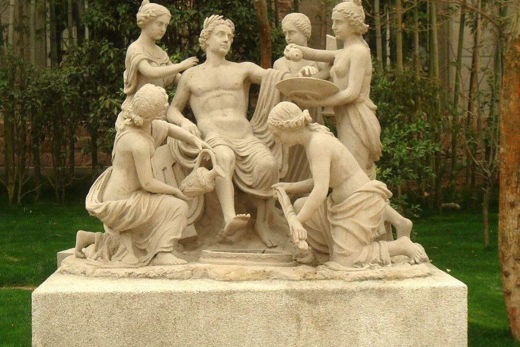 园林砂岩雕塑