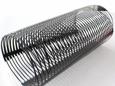简单浅述下第一层新疆单向塑料土工格栅加筋材料铺设方法