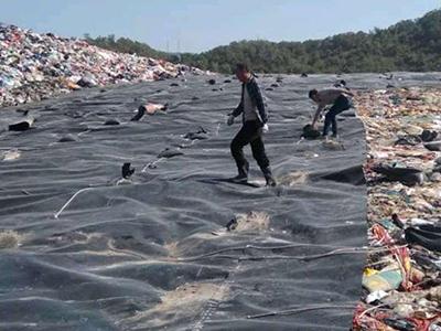 垃圾场防渗土工膜
