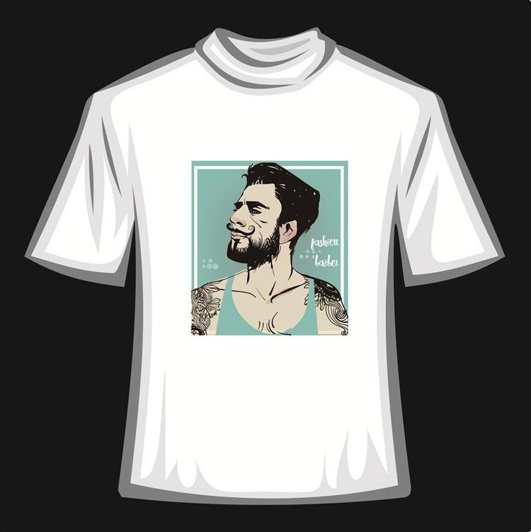 T恤烫画05