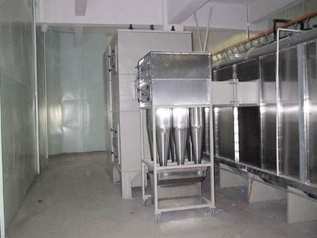 新疆烤漆房的三种换气形式解说