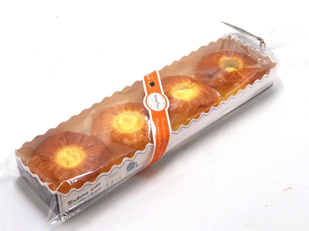 芝士红豆餐包