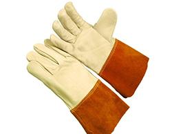 合适牛皮电焊手套的选择及电焊手套的特性