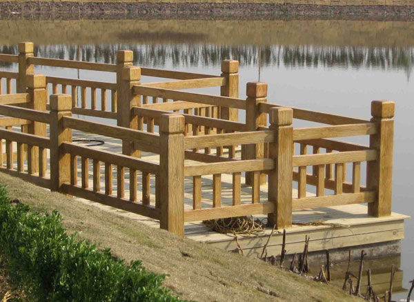 吉安园林栏杆水泥栏杆仿木栏杆哪种更好