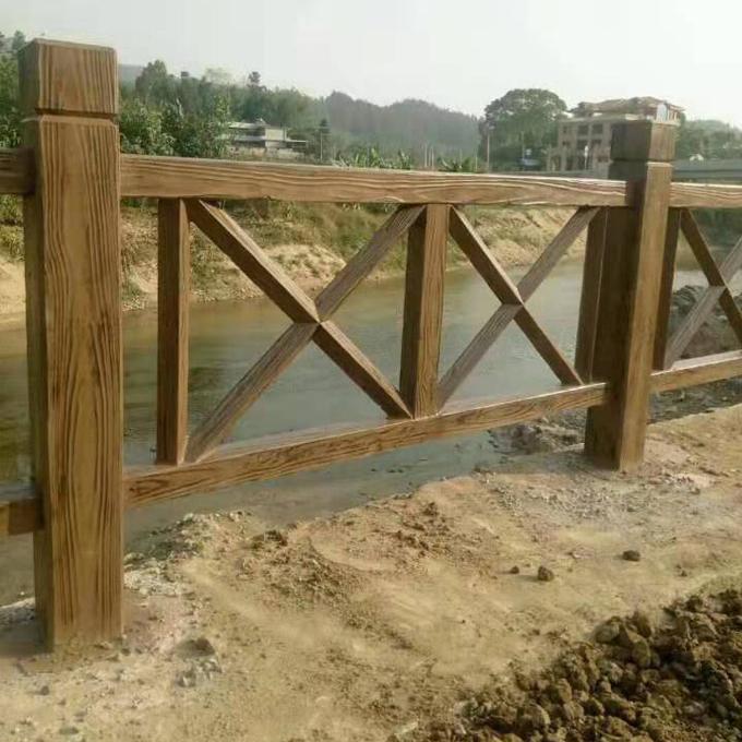 水泥仿木栏杆批发