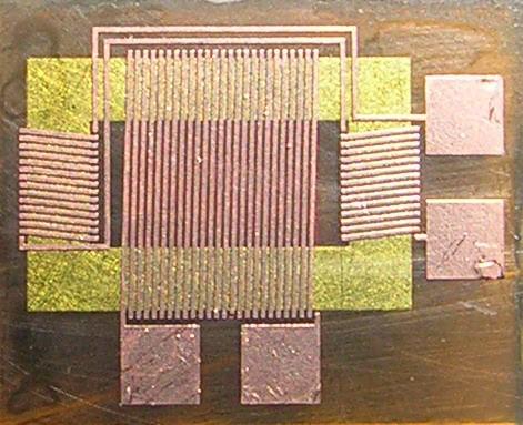螺线管式磁通门探测器 离子束刻蚀