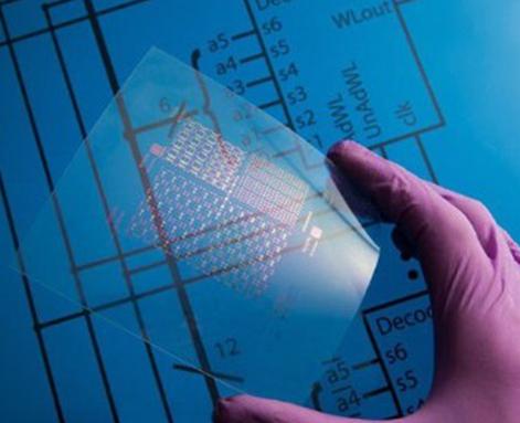 可弯折柔性集成电路 离子束镀膜+刻蚀