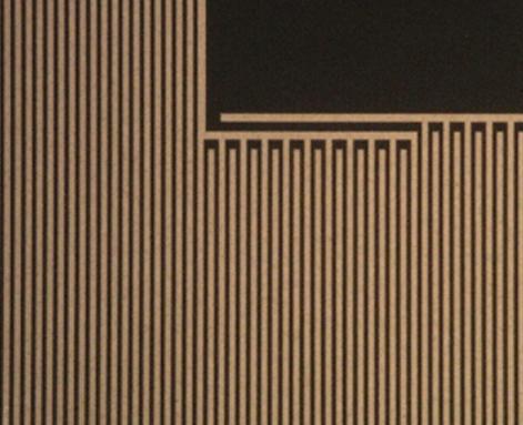 合金薄膜电阻 合金膜刻蚀线条局部