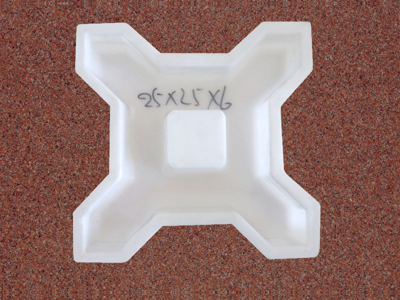 X型植草砖:25x25x6