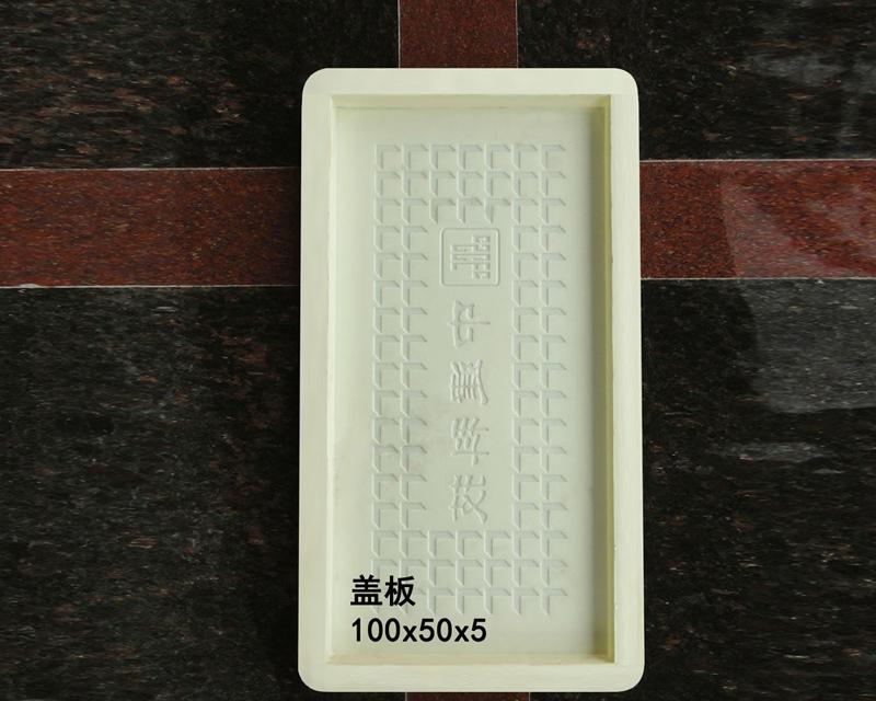 盖板:100x50x5