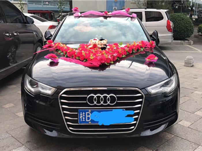 柳州奥迪A6L婚礼车出租