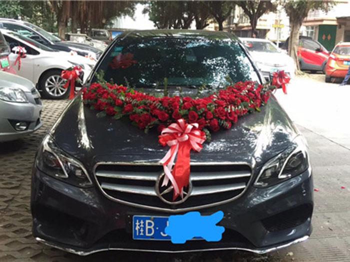 柳州奔驰E260婚车租赁价格