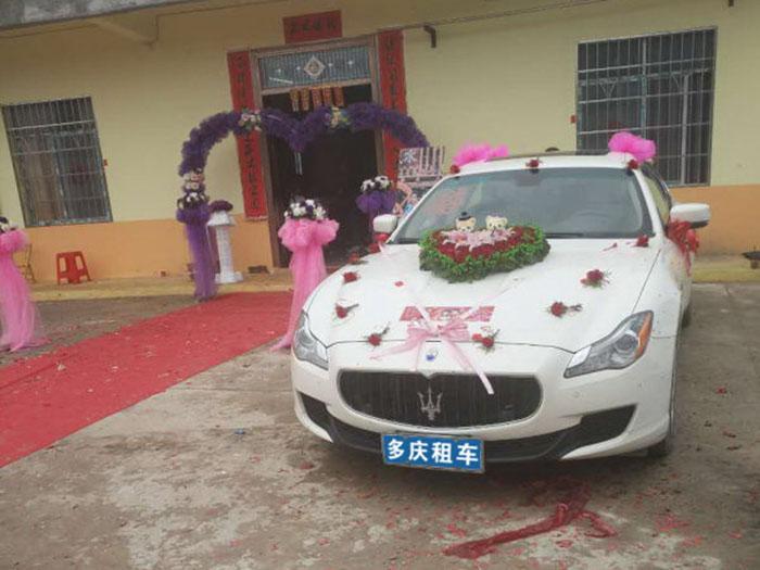 柳城柳州玛莎拉蒂婚礼租车价格