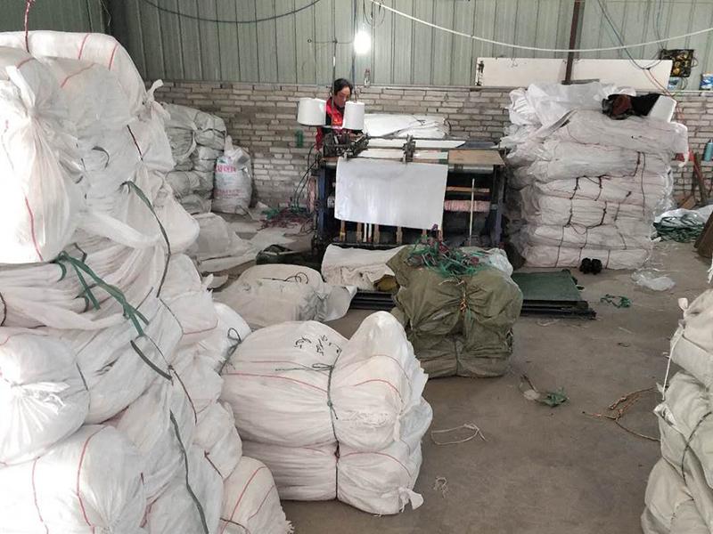 编织袋生产车间
