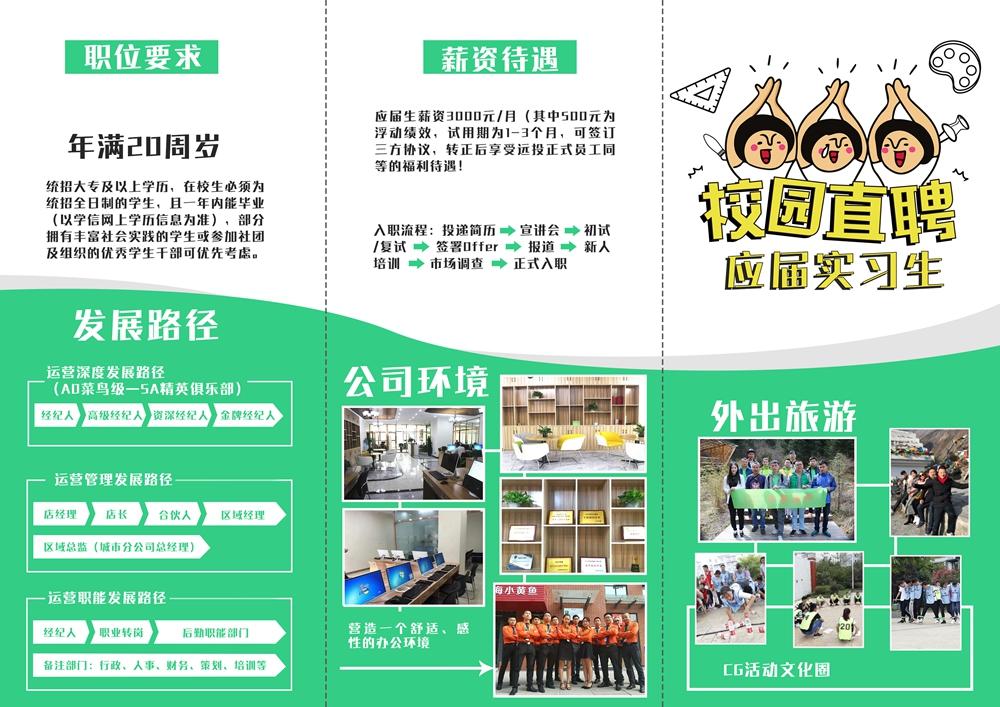 绵阳远投地产招聘岗位: 2019应届实习生