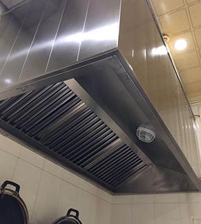 家用厨房排烟管道安装