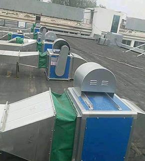 会所新风系统安装