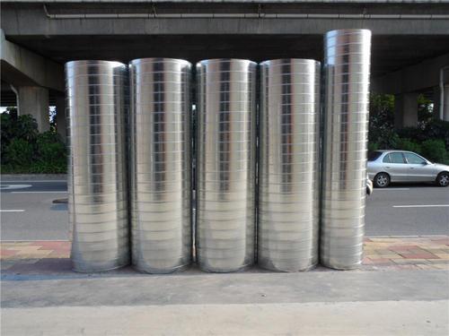 安装福州螺旋风管应遵循的原则!