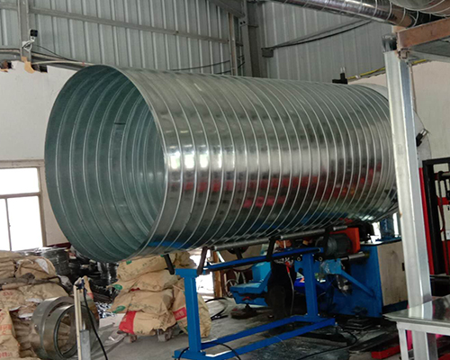 浅谈福建不锈钢螺旋风管的加工流程及其在别墅中的应用!