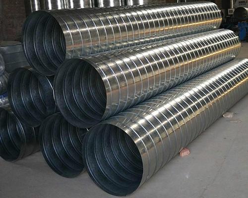 福州螺旋风管是一种采用金属带料卷制成螺旋形咬缝的薄壁圆形管!