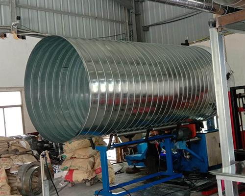 除尘螺旋风管的技术参数是什么呢