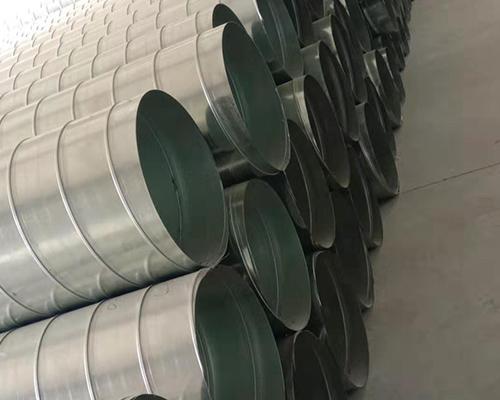 镀锌螺旋风管的无法兰连接类型