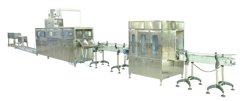 江门安吉尔公司供应矿泉水小瓶灌装生产线 灌装设备,600桶豪华灌装线设备