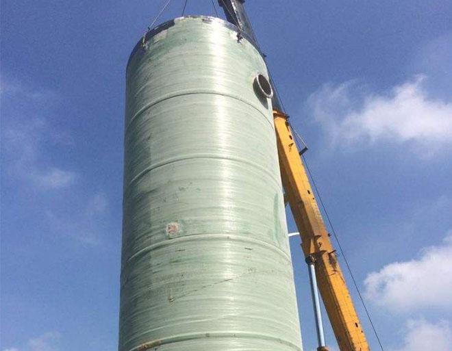 污水收集泵站