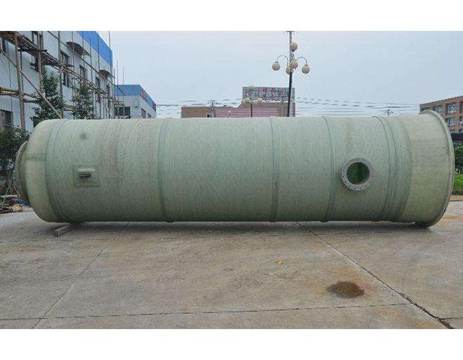 福清玻璃钢一体化预制泵站