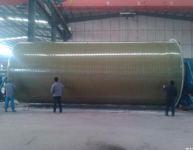 福州玻璃钢污水泵站
