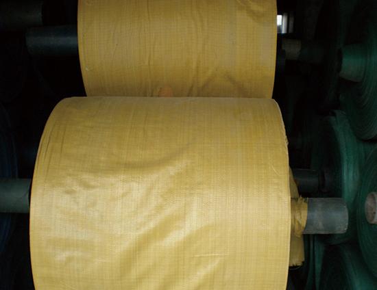 黄色编织袋筒料