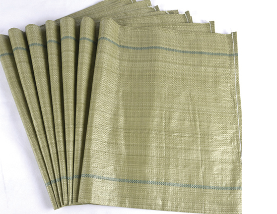 灰绿色编织袋