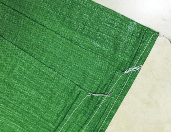 绿色编织袋厂家说说编织袋加工定做流程是什么样的?