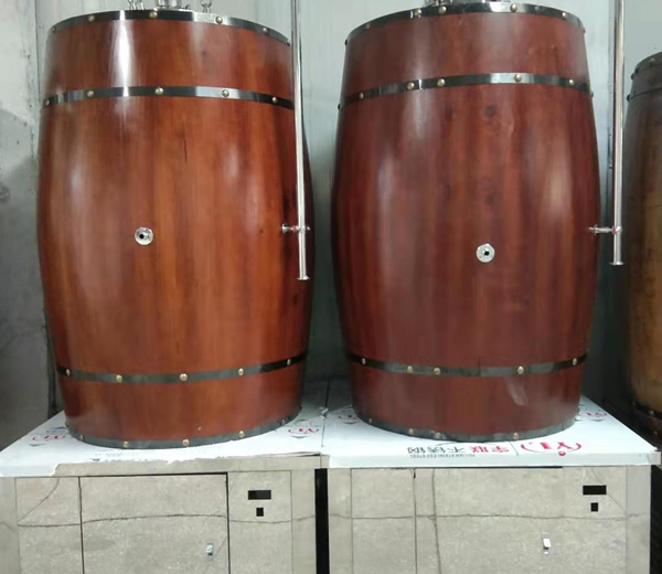 500L橡木桶发酵罐