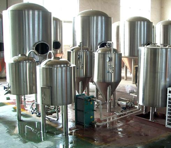 酒店自酿啤酒设备