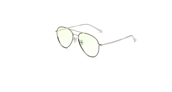 3133银色全框近视眼镜镜架
