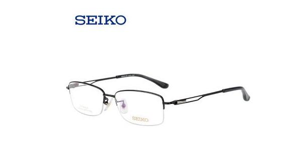 8433枪色半框近视眼镜镜架