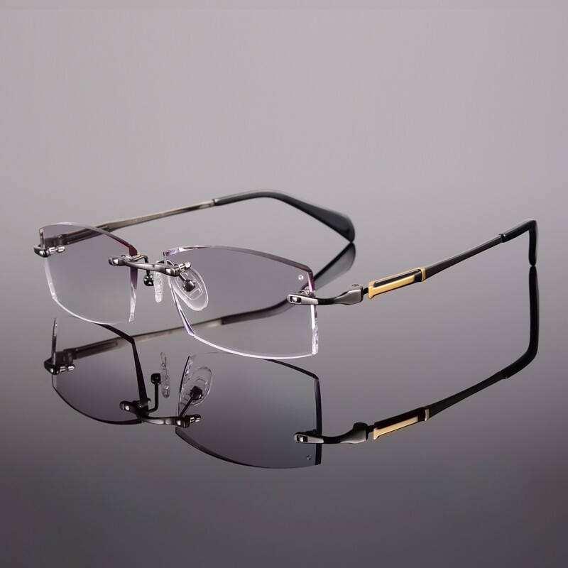 尚壹钛6042工艺无框眼镜框