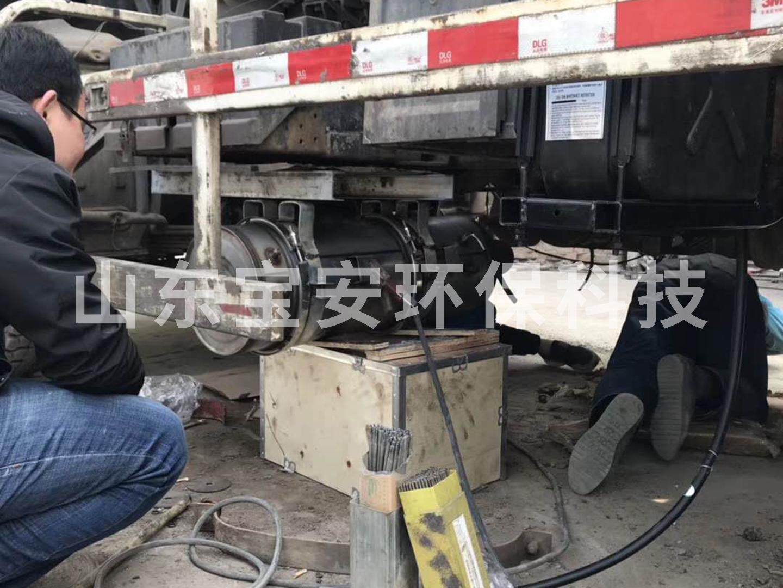 柴油车后处理系统(DOC+CDPF+SCR)