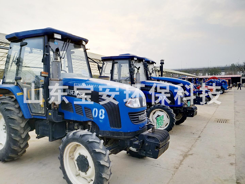 公司中标大兴区农机加装尾气污染物控制装置