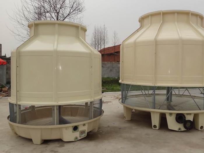 圆形横流式冷却塔