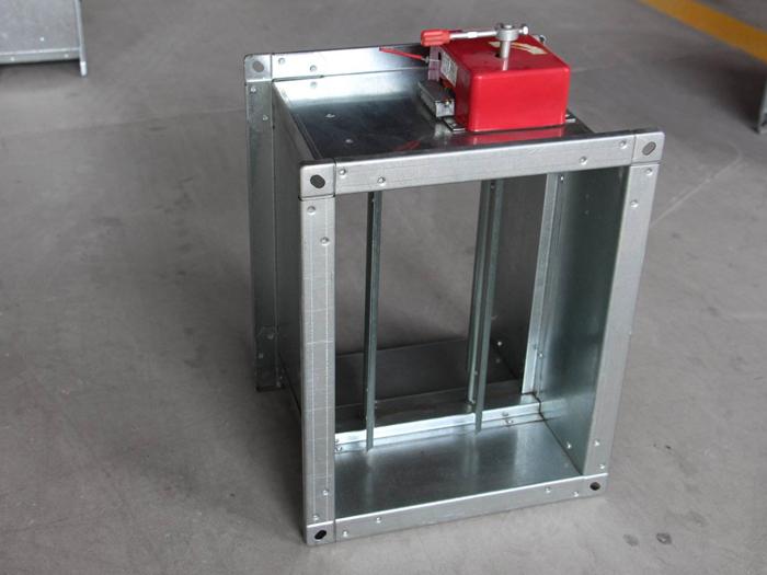 介绍3c排烟防火阀在消防系统中的安装位置。