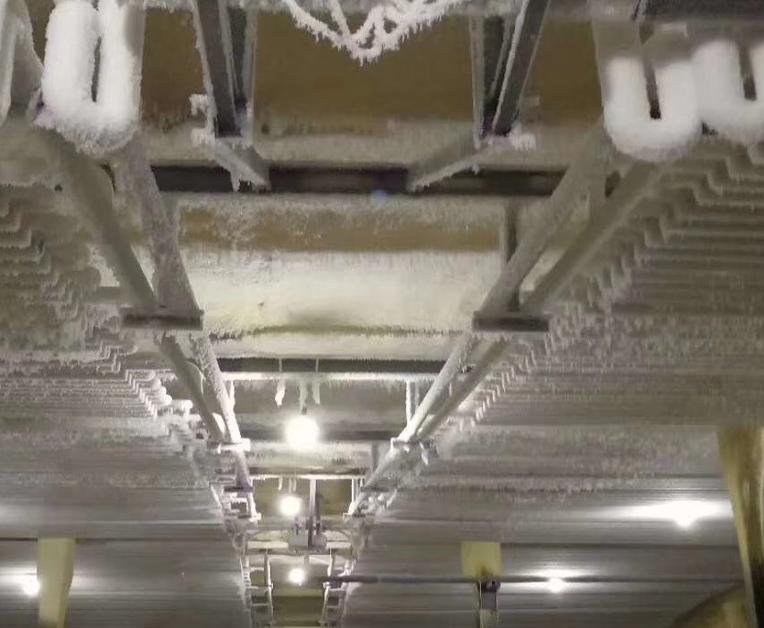 铝排热氟安装案例
