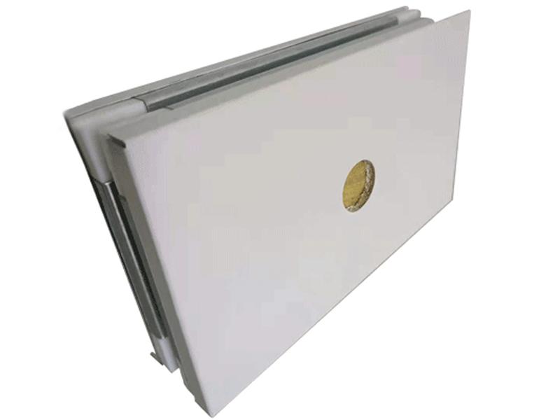 手工单玻镁岩棉净化彩钢板