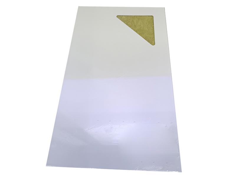 手工岩棉净化彩钢板